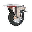 Промышленные колеса с тормозом
